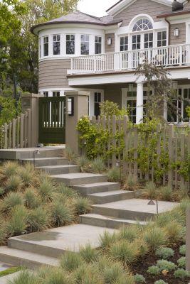 Levin front steps